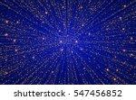 festive explosion of confetti.... | Shutterstock .eps vector #547456852