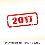 illustration of 2017 number... | Shutterstock .eps vector #547461262