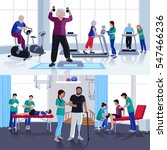 rehabilitation care and... | Shutterstock .eps vector #547466236