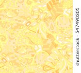 tracery seamless calming... | Shutterstock .eps vector #547490305
