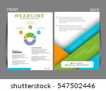 vector  business infographics... | Shutterstock .eps vector #547502446