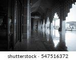 putra mosque  masjid putra  in... | Shutterstock . vector #547516372
