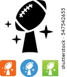 american football championship... | Shutterstock .eps vector #547542655