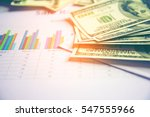 business concept with money and ... | Shutterstock . vector #547555966