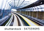 motion effect of malaysia mrt ... | Shutterstock . vector #547559095