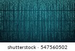 abstract cyberspace with... | Shutterstock .eps vector #547560502