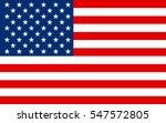 united states flag  vector | Shutterstock .eps vector #547572805
