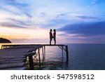 beautiful romantic love... | Shutterstock . vector #547598512