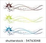 vine vector | Shutterstock .eps vector #54763048