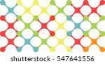 abstract seamless bonding shape ... | Shutterstock .eps vector #547641556