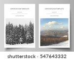 business templates for brochure ... | Shutterstock .eps vector #547643332