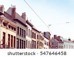 beautiful street view of  old... | Shutterstock . vector #547646458