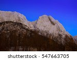 Mount Giewont In Tatra...