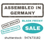 assembled in germany rubber... | Shutterstock .eps vector #547673182