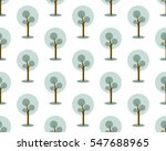 seamless trees pattern. winter... | Shutterstock .eps vector #547688965