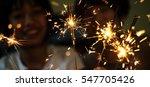 asian girl having fun with a...   Shutterstock . vector #547705426