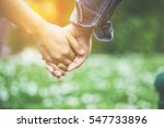 couples holding hands | Shutterstock . vector #547733896
