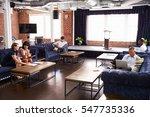 businesspeople working in... | Shutterstock . vector #547735336