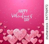 luxury elegant happy valentine... | Shutterstock .eps vector #547750972