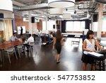 interior of busy design office... | Shutterstock . vector #547753852