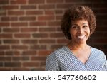 head and shoulders portrait of... | Shutterstock . vector #547760602