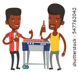 african male friends at... | Shutterstock .eps vector #547762042