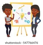 two african businesswomen... | Shutterstock .eps vector #547766476