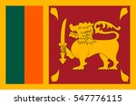 flag of sri lanka officially... | Shutterstock .eps vector #547776115