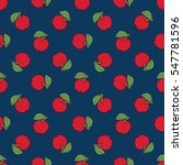 seamless pattern of fruit  ... | Shutterstock .eps vector #547781596
