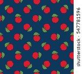 seamless pattern of fruit  ... | Shutterstock .eps vector #547781596
