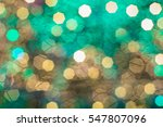 Abstract Holiday Blurs