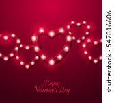 valentine s day background.... | Shutterstock .eps vector #547816606