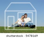 family with son and house of... | Shutterstock . vector #5478169
