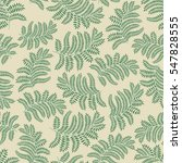 floral pattern with leaves.... | Shutterstock . vector #547828555