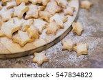 Homemade Cookies Shaped Stars...