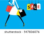 Sale Banner Fashion Woman...