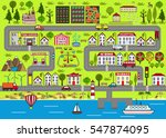 background of a lively city... | Shutterstock .eps vector #547874095