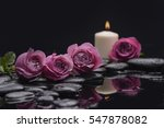still life with red rose with...   Shutterstock . vector #547878082