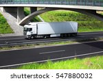 truck on the road | Shutterstock . vector #547880032