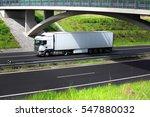 truck transportation | Shutterstock . vector #547880032