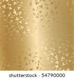 seamless vector golden texture | Shutterstock .eps vector #54790000