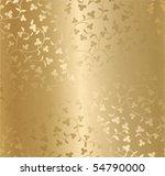 seamless vector golden texture | Shutterstock .eps vector #54790000