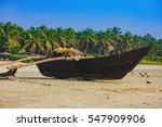 Traditional Fishing Boat On...