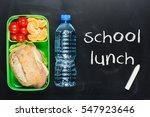 sandwich  small tomatoes ... | Shutterstock . vector #547923646
