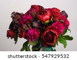 Flower Arrangement. Bouquet Of...