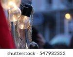 retro antique hanging light...   Shutterstock . vector #547932322