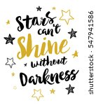 stars can't shine without... | Shutterstock .eps vector #547941586