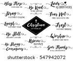 christian hand lettering vector ... | Shutterstock .eps vector #547942072