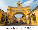 antigua  guatemala   march 25... | Shutterstock . vector #547948642