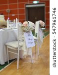 wedding decor | Shutterstock . vector #547961746